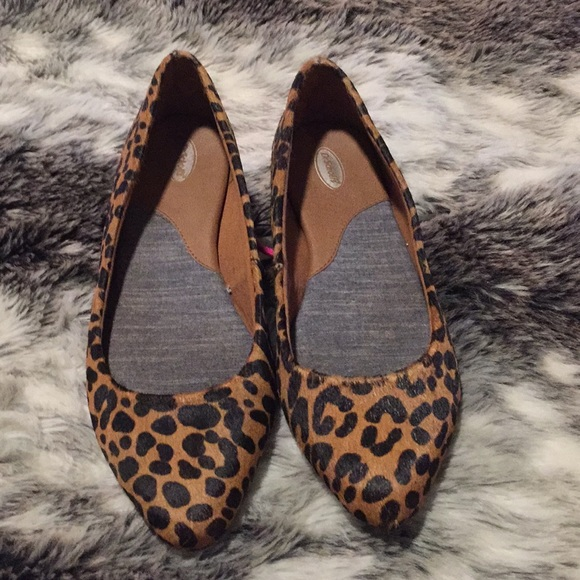 Leopard Calf Hair Flat | Poshmark